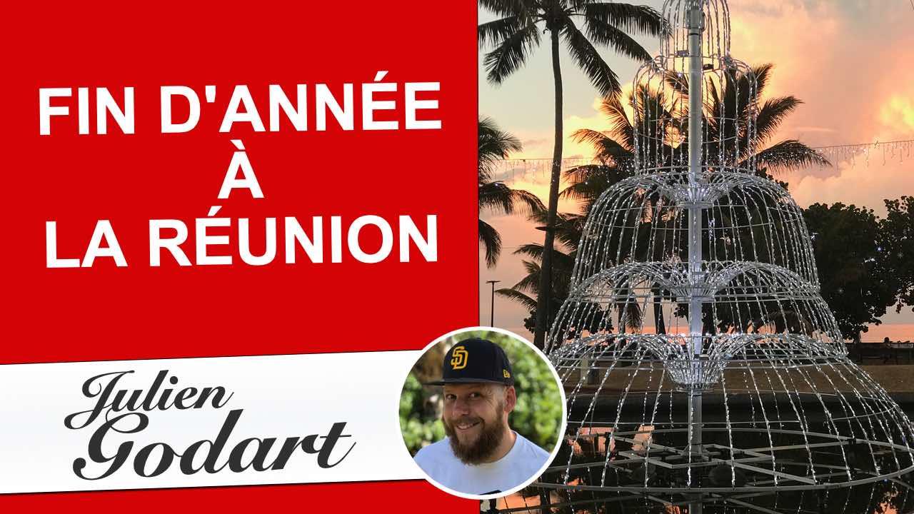 image des vidéos youtube du chroniqueur webmarketing Julien Godart représentant la fin d'année sur l'île de La Réunion