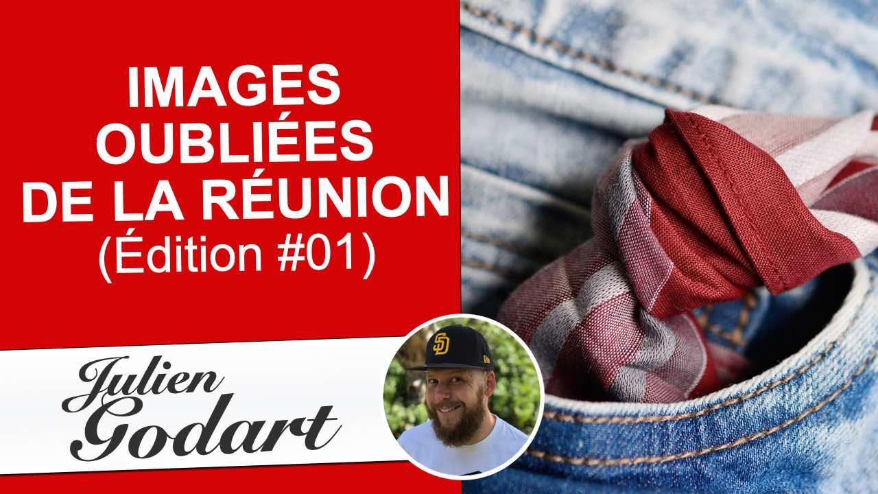 image d'une vidéo youtube du webmarketeur freelance Julien Godart dans laquelle il partage des images oubliées de l'île de La Réunion